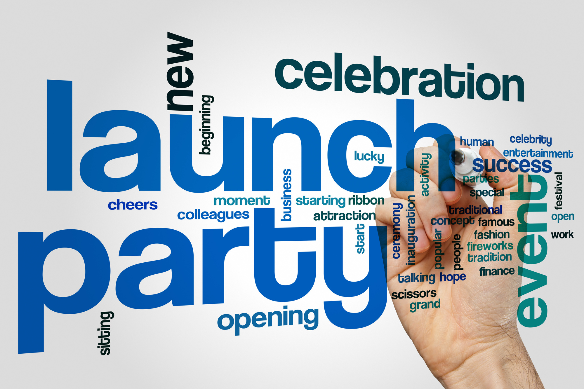 launch party and related terms